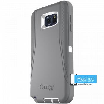 Чехол OtterBox Defender для Samsung Galaxy Note 5 Glacier серый
