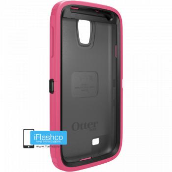 Чехол OtterBox Defender для Samsung Galaxy S4 Black / Blaze Pink розовый с черным