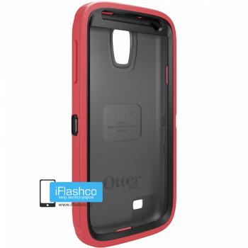 Чехол OtterBox Defender для Samsung Galaxy S4 Black/Raspberry pink красный с черным