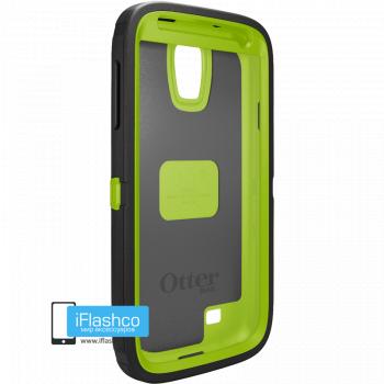 Чехол OtterBox Defender для Samsung Galaxy S4 Glow Green/Black черный с зеленым