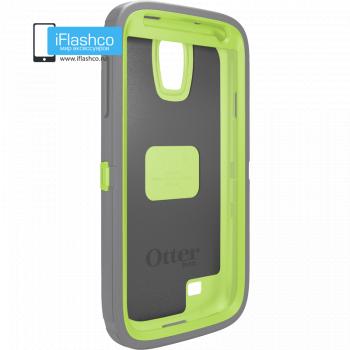 Чехол OtterBox Defender для Samsung Galaxy S4 Glow Green/Gunmetal Grey серый с зеленым