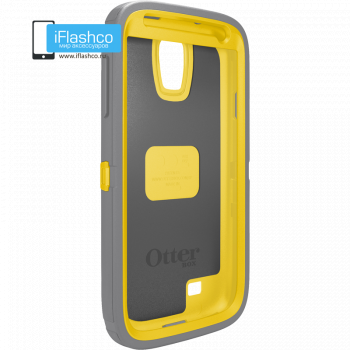 Чехол OtterBox Defender для Samsung Galaxy S4 Sun Yellow/Gunmetal Grey серый с желтым