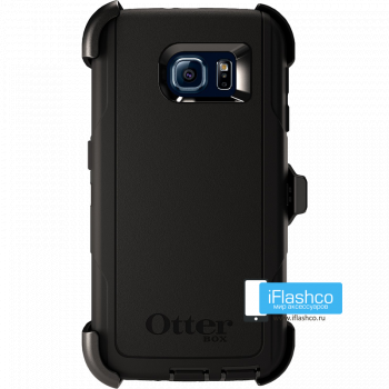 Чехол OtterBox Defender для Samsung Galaxy S6 Black черный