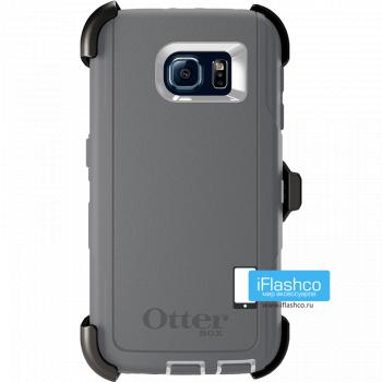 Чехол OtterBox Defender для Samsung Galaxy S6 Glacier серый