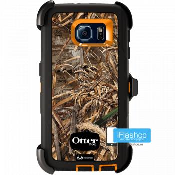 Чехол OtterBox Defender для Samsung Galaxy S6 Max 5 HD оранжевый