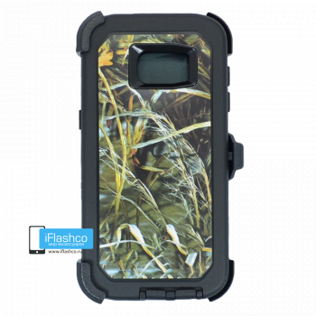 Чехол Otterbox Defender для Samsung Galaxy S7 Edge Black Camo