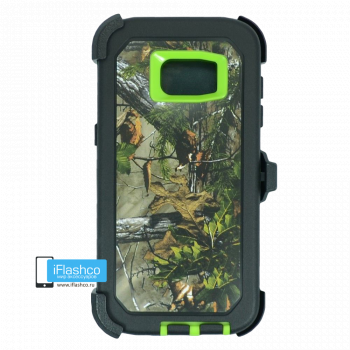 Чехол Otterbox Defender для Samsung Galaxy S7 Edge Green Camo