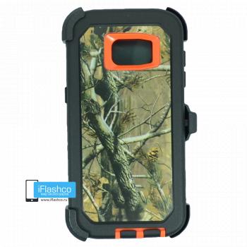 Чехол Otterbox Defender для Samsung Galaxy S7 Edge Orange Camo 2