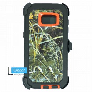 Чехол Otterbox Defender для Samsung Galaxy S7 Edge Orange Camo 3