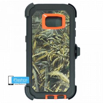 Чехол Otterbox Defender для Samsung Galaxy S7 Edge Orange Camo