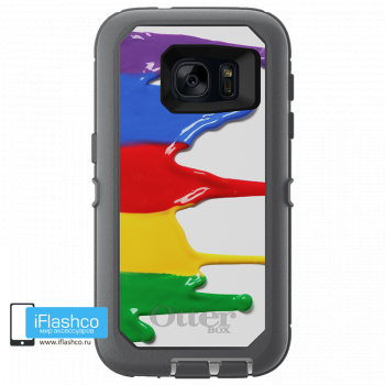 Чехол OtterBox Defender для Samsung Galaxy S7 Paint Colors 2