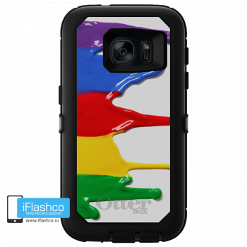 Чехол OtterBox Defender для Samsung Galaxy S7 Paint Colors