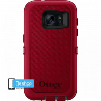 Чехол OtterBox Defender для Samsung Galaxy S7 Regal красный