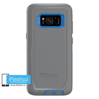 Чехол OtterBox Defender для Samsung Galaxy S8 Marathoner серый с синим