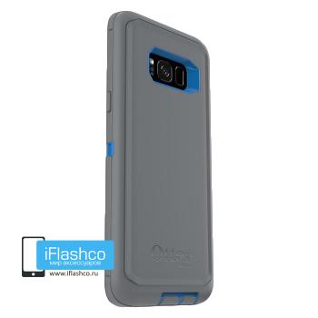 Чехол OtterBox Defender для Samsung Galaxy S8+ Marathoner серый с синим