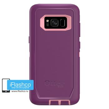 Чехол OtterBox Defender для Samsung Galaxy S8 Vinyasa фиолетовый