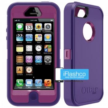 Чехол OtterBox Defender iPhone 5 фиолетовый