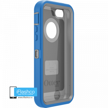 Чехол OtterBox Defender iPhone 5c Ocean Blue / Gunmetal Grey синий с серым