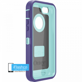 Чехол OtterBox Defender iPhone 5c Violet Purple / Aqua Blue фиолетовый с голубым