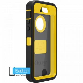 Чехол OtterBox Defender iPhone 5S / SE черный с желтым