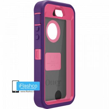 Чехол OtterBox Defender iPhone 5S / SE фиолетовый с малиновым
