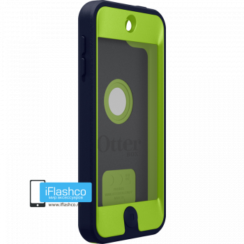 Чехол OtterBox Defender iPod touch 5 / 6 Punk черный с салатовым