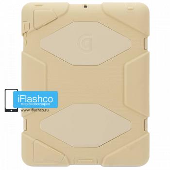 Чехол противоударный Griffin Survivor для iPad 2 / New / 4 песочный