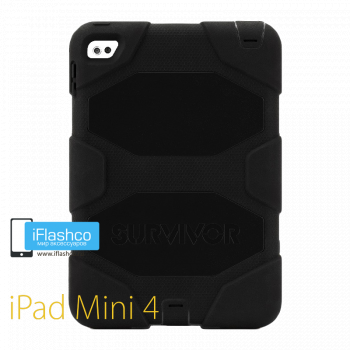 Чехол противоударный Griffin Survivor для iPad mini 4 / 5 черный