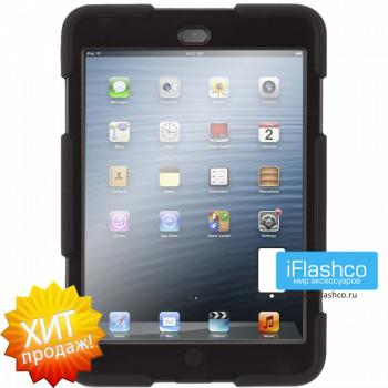 Чехол противоударный Griffin Survivor для iPad mini 1 / 2 / 3 черный