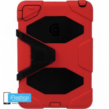 Чехол противоударный Griffin Survivor для iPad mini 1 / 2 / 3 красный с черным