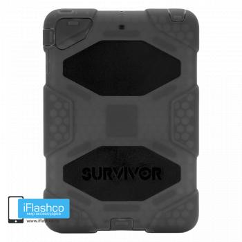 Чехол противоударный Griffin Survivor для iPad mini 1 / 2 / 3 серый