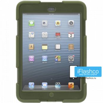 Чехол противоударный Griffin Survivor для iPad mini 1 / 2 / 3 темно-зеленый