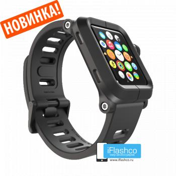 Чехол Lunatik EPIK для Apple Watch 38 мм Black черный