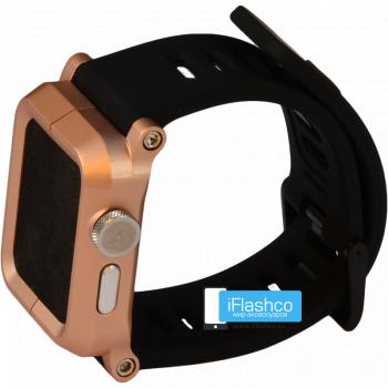Чехол Lunatik EPIK для Apple Watch 38 мм Gold золотой