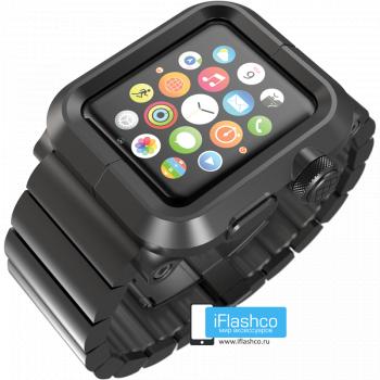 Чехол Lunatik LYNK Blackout для Apple Watch 38мм черный