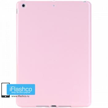 Чехол силиконовый для iPad Air розовый