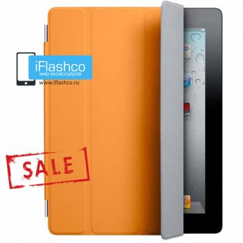 Чехол Smart Cover для iPad 2 / New / 4 оранжевый