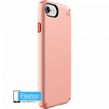 Чехол Speck Presidio для iPhone 7/8/SE SUNSET PEACH/WARNING ORANGE