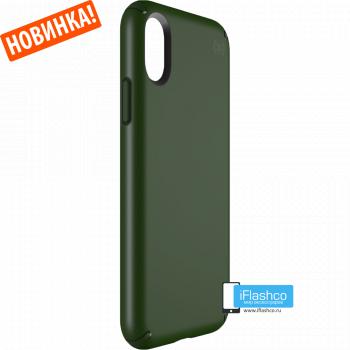 Чехол Speck Presidio для iPhone X/Xs DUSTY GREEN