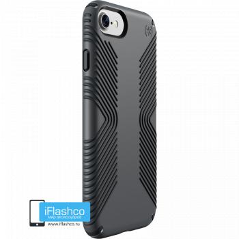 Чехол Speck Presidio Grip для iPhone 7/8/SE GRAPHITE GREY/CHARCOAL GREY