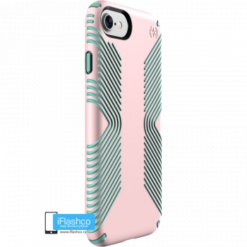 Чехол Speck Presidio Grip для iPhone 7 / 8 QUARTZ PINK/ALOE GREEN