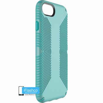 Чехол Speck Presidio Grip для iPhone 7/8/SE SURF TEAL/MYKONOS BLUE