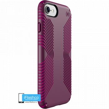 Чехол Speck Presidio Grip для iPhone 7 / 8 SYRAH PURPLE/MAGENTA PINK