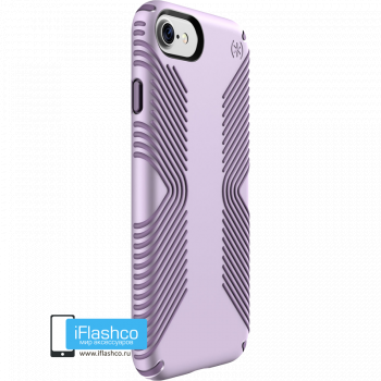 Чехол Speck Presidio Grip для iPhone 7 / 8 WHISPER PURPLE/LILAC PURPLE