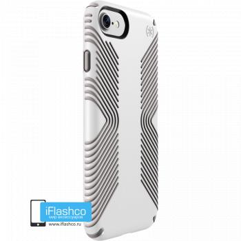 Чехол Speck Presidio Grip для iPhone 7/8/SE WHITE/ASH GREY
