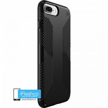 Чехол Speck Presidio Grip для iPhone 7 Plus / 8 Plus BLACK/BLACK