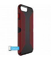 Чехол Speck Presidio Grip для iPhone 7 Plus / 8 Plus BLACK/DARK POPPY RED