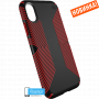 Чехол Speck Presidio Grip для iPhone X/Xs BLACK/DARK POPPY RED