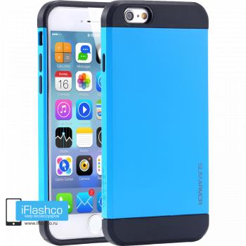 Чехол Spigen Slim Armor Blue для iPhone 6 / 6s