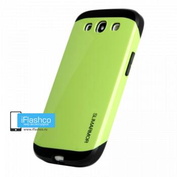Чехол Spigen Slim Armor для Samsung Galaxy S3 зеленый